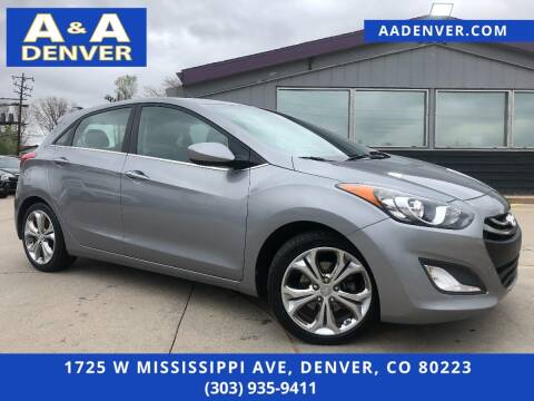 2013 Hyundai Elantra GT for sale at A & A AUTO LLC in Denver CO