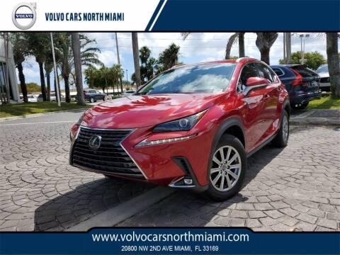 2019 Lexus NX 300 for sale at Volvo Cars North Miami in Miami FL