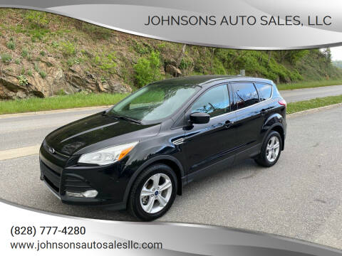 2014 Ford Escape for sale at Johnsons Auto Sales, LLC in Marshall NC