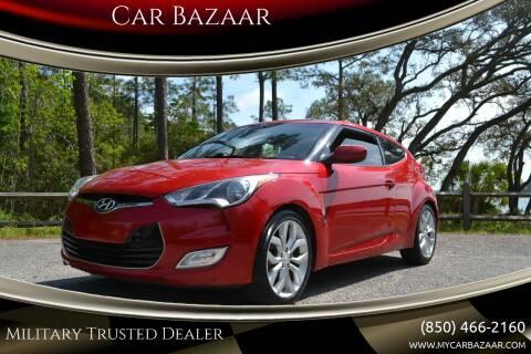 2013 Hyundai Veloster for sale at Car Bazaar in Pensacola FL