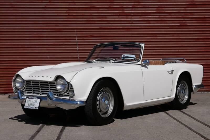 1964 Triumph TR4 for sale at Sierra Classics & Imports in Reno NV