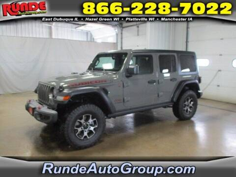 2019 Jeep Wrangler Unlimited for sale at Runde PreDriven in Hazel Green WI