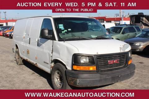 2004 GMC Savana Cargo for sale at Waukegan Auto Auction in Waukegan IL