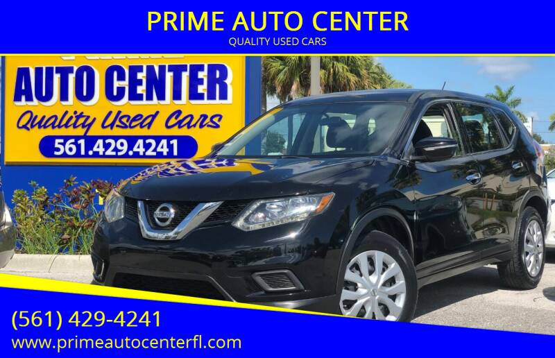 2014 Nissan Rogue for sale at PRIME AUTO CENTER in Palm Springs FL