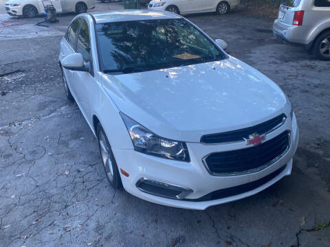2016 Chevrolet Cruze Limited for sale at J Franklin Auto Sales in Macon GA