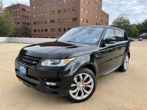 2014 Land Rover Range Rover Sport for sale at Crown Auto Group in Falls Church VA