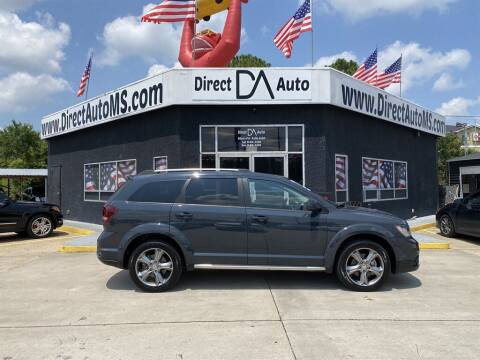2017 Dodge Journey for sale at Direct Auto in D'Iberville MS