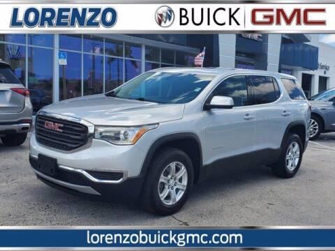 2017 GMC Acadia for sale at Lorenzo Buick GMC in Miami FL