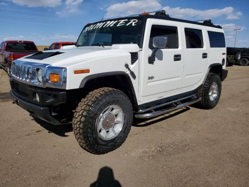 2003 HUMMER H2 for sale at HORSEPOWER AUTO BROKERS in Fort Collins CO