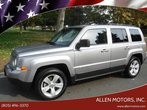 2017 Jeep Patriot for sale at Allen Motors, Inc. in Thousand Oaks CA