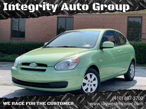2010 Hyundai Accent for sale at Integrity Auto Group in Westminister MD