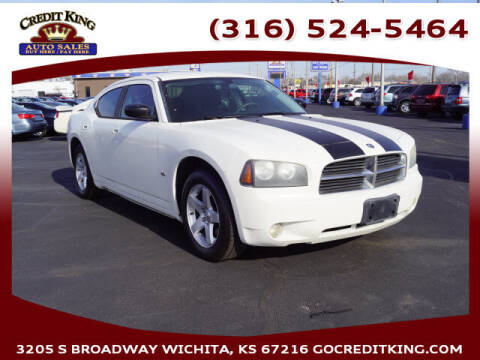 2009 Dodge Charger for sale at Credit King Auto Sales in Wichita KS