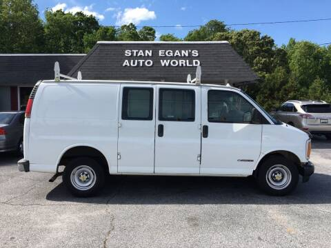 2001 Chevrolet Express Cargo for sale at STAN EGAN'S AUTO WORLD, INC. in Greer SC