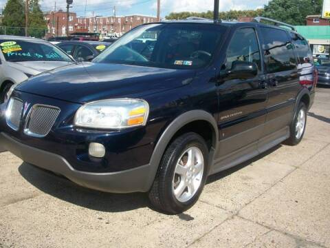 2006 Pontiac Montana SV6 for sale at J Michaels Auto Sales Inc in Philadelphia PA