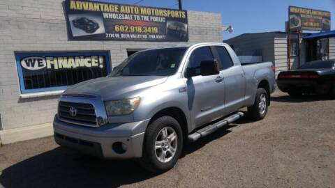 2007 Toyota Tundra for sale at Advantage Motorsports Plus in Phoenix AZ