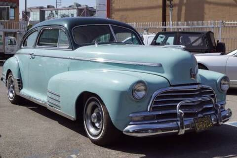 1946 Chevrolet Fleetline for sale at Classic Car Deals in Cadillac MI