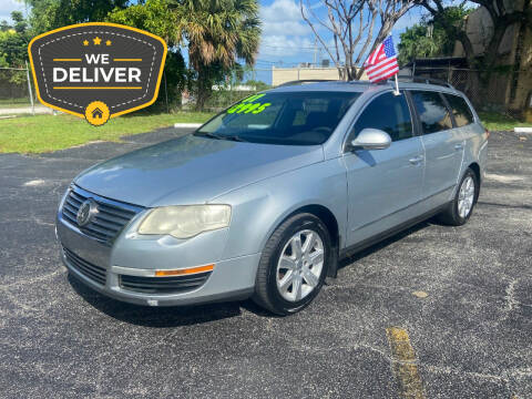 2007 Volkswagen Passat for sale at Alma Car Sales in Miami FL