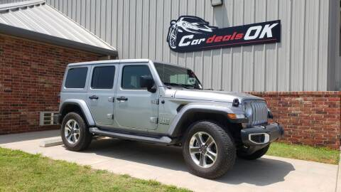 2020 Jeep Wrangler Unlimited for sale at Car Deals OK in Oklahoma City OK