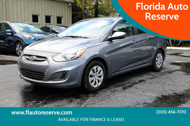 2016 Hyundai Accent for sale at Florida Auto Reserve in Medley FL