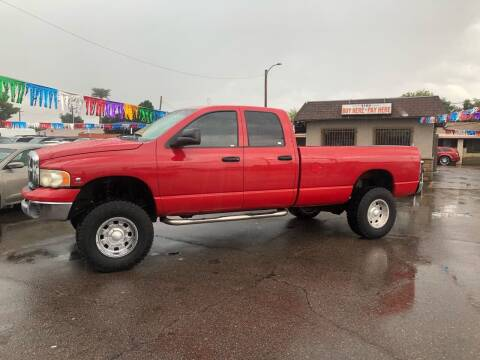2004 Dodge Ram Pickup 2500 for sale at Valley Auto Center in Phoenix AZ
