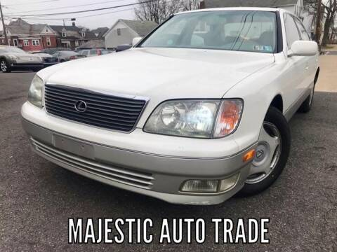 1998 Lexus LS 400 for sale at Majestic Auto Trade in Easton PA