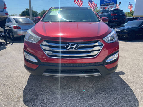 2013 Hyundai Santa Fe Sport for sale at INTERNATIONAL AUTO BROKERS INC in Hollywood FL