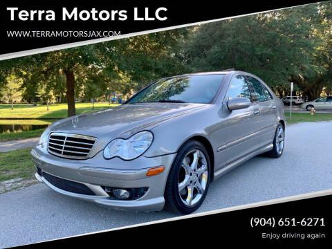 2007 Mercedes-Benz C-Class for sale at Terra Motors LLC in Jacksonville FL