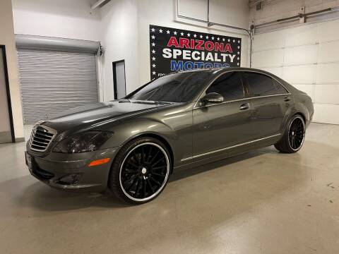 2007 Mercedes-Benz S-Class for sale at Arizona Specialty Motors in Tempe AZ