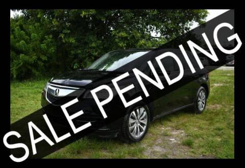 2016 Acura MDX for sale at ELITE MOTOR CARS OF MIAMI in Miami FL