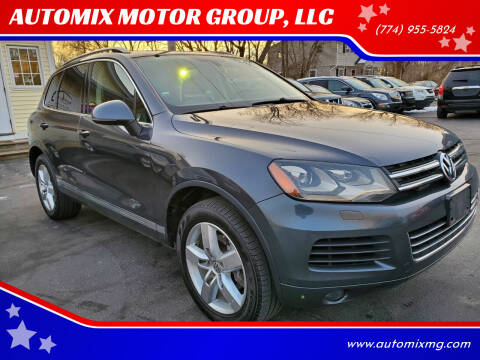 2012 Volkswagen Touareg for sale at AUTOMIX MOTOR GROUP, LLC in Swansea MA