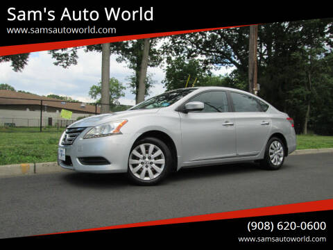 2013 Nissan Sentra for sale at Sam's Auto World in Roselle NJ