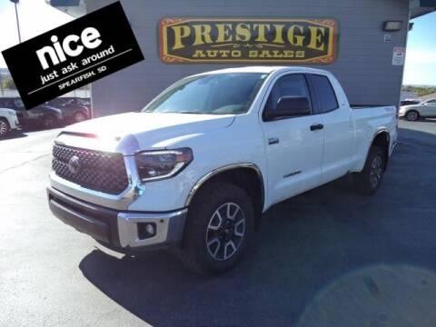 2020 Toyota Tundra for sale at PRESTIGE AUTO SALES in Spearfish SD