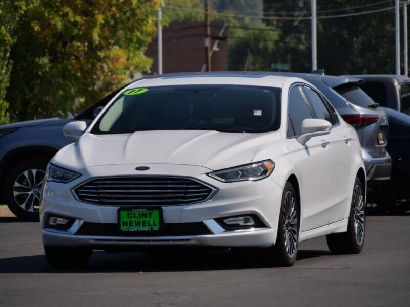 2017 Ford Fusion for sale at CLINT NEWELL USED CARS in Roseburg OR
