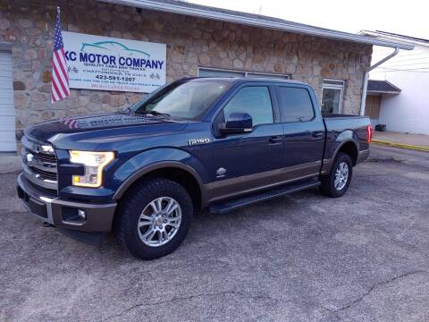 2017 Ford F-150 for sale at KC Motor Company in Chattanooga TN
