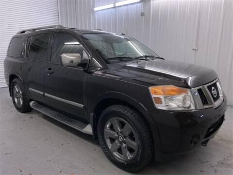 2014 Nissan Armada for sale at JOE BULLARD USED CARS in Mobile AL