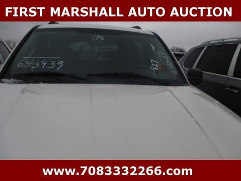 2003 Jeep Liberty for sale at First Marshall Auto Auction in Harvey IL