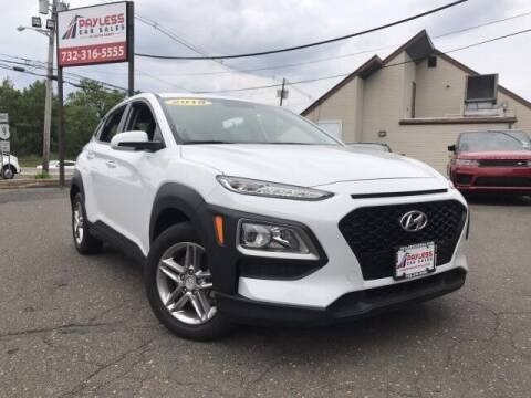 2018 Hyundai Kona for sale at PAYLESS CAR SALES of South Amboy in South Amboy NJ