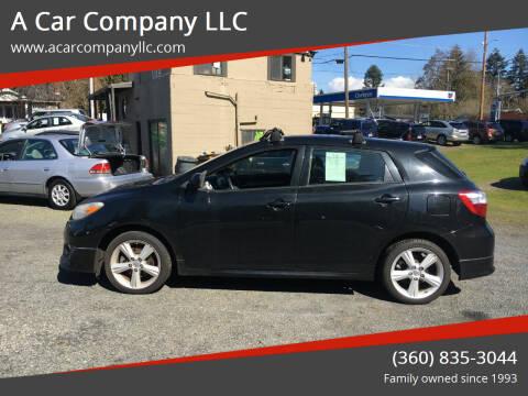 2009 Toyota Matrix for sale at A Car Company LLC in Washougal WA