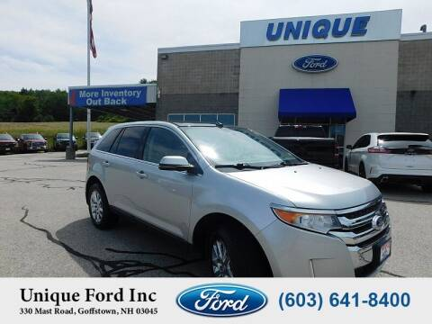 2013 Ford Edge for sale at Unique Motors of Chicopee - Unique Ford in Goffstown NH