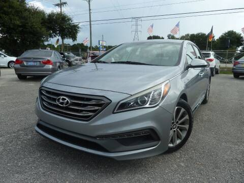 2015 Hyundai Sonata for sale at Das Autohaus Quality Used Cars in Clearwater FL