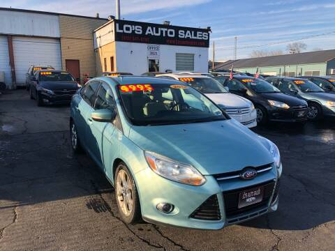 2012 Ford Focus for sale at Lo's Auto Sales in Cincinnati OH