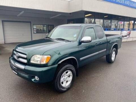 2003 Toyota Tundra for sale at TacomaAutoLoans.com in Tacoma WA