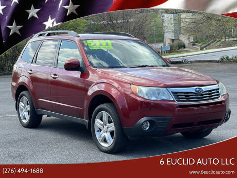 2009 Subaru Forester for sale at 6 Euclid Auto LLC in Bristol VA