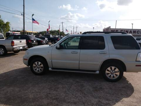 2006 Mercury Mountaineer for sale at BIG 7 USED CARS INC in League City TX