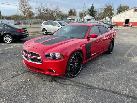 2012 Dodge Charger for sale at Dean's Auto Sales in Flint MI