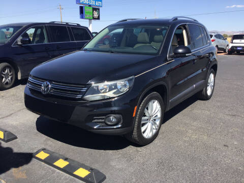 2013 Volkswagen Tiguan for sale at SPEND-LESS AUTO in Kingman AZ