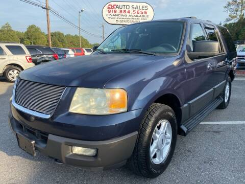 2004 Ford Expedition for sale at CVC AUTO SALES in Durham NC