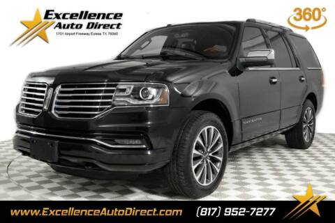 2015 Lincoln Navigator for sale at Excellence Auto Direct in Euless TX