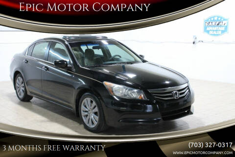 2011 Honda Accord for sale at Epic Motor Company in Chantilly VA