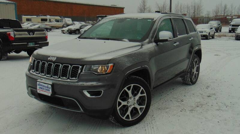 2019 Jeep Grand Cherokee for sale at Dependable Used Cars in Anchorage AK